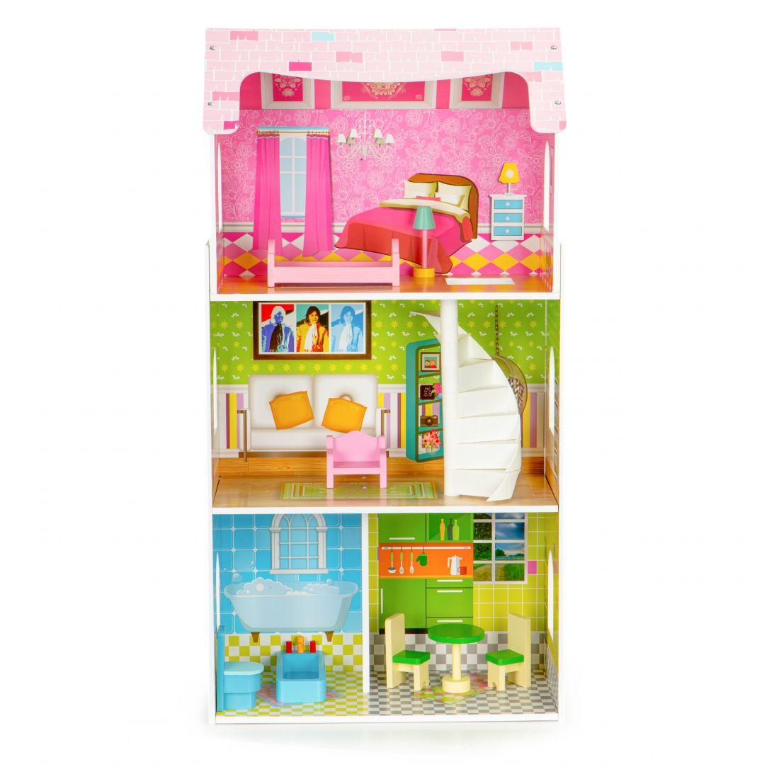 Кукольный домик ecotoys
