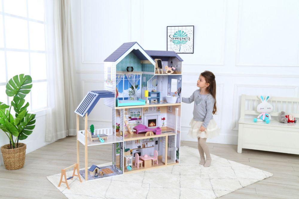 Кукольный деревянный домик-Residence Maya