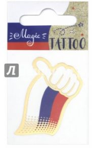 """Татуировка временная """"Флаг"""" маленькая (76898)"""