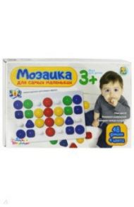 Мозаика для самых маленьких (48 элементов, 40 мм., 4 цвета) (03503)
