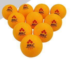 Мячи BOLL для настольного тенниса 40+ 3 звезды оранжевые