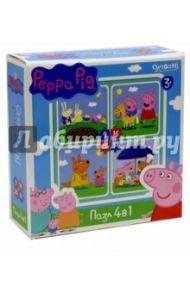"""Пазл 4 в 1 """"Peppa Pig. На отдыхе"""" (01599)"""