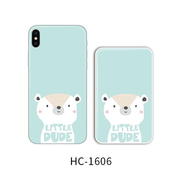 Защитный чехол HOCO Colorful and graceful series для iPhoneXS (мишка литл)