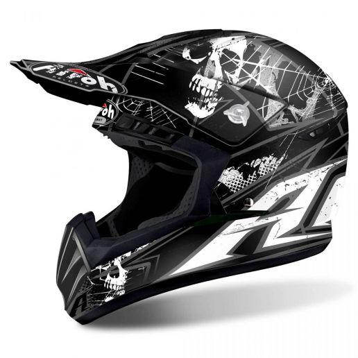 Airoh - Switch Scary Black Matt шлем, черный матовый