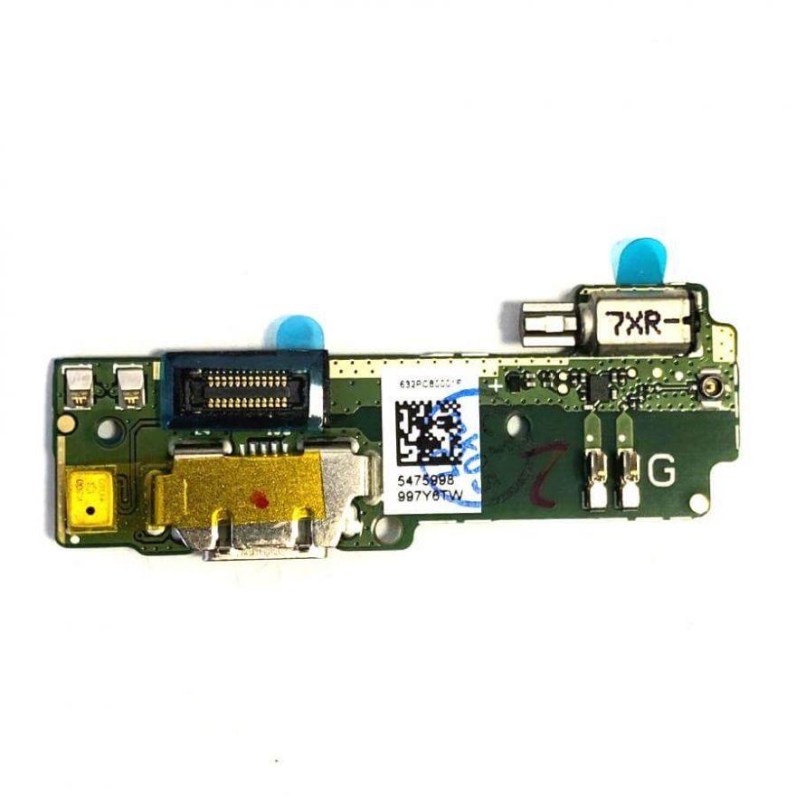 Нижняя плата с разъемом зарядки, микрофоном и виброзвонком для Sony Xperia XA (Original)