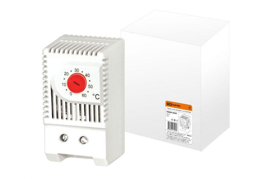 Термостат TDM NС (обогрев) SQ0832-0020