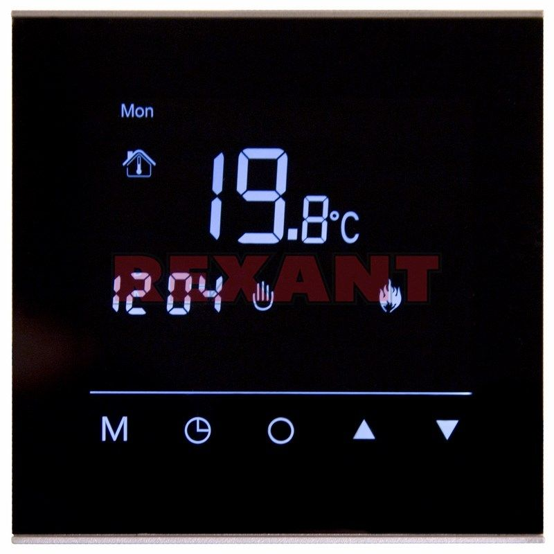 Терморегулятор Rexant сенсорный программируемый R300B 51-0575