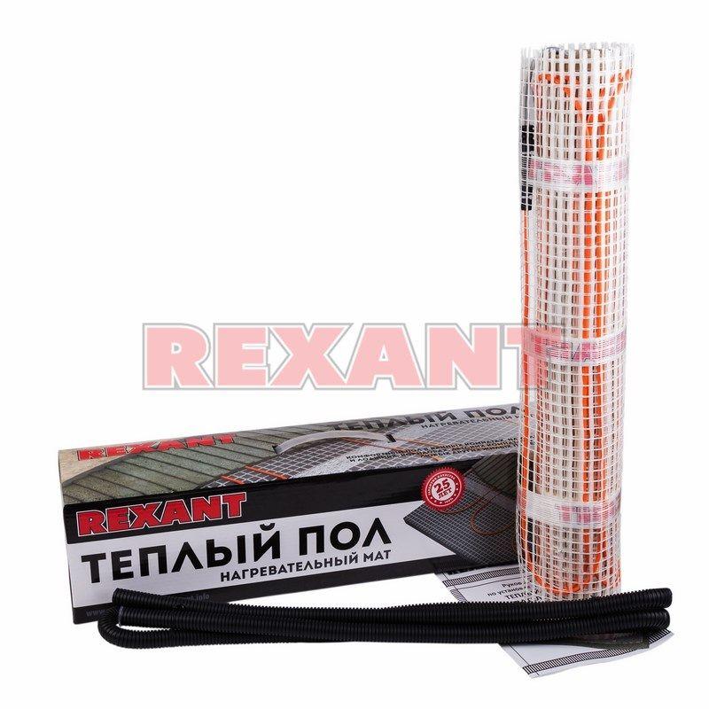 Теплый пол Rexant нагревательный мат 51-0514