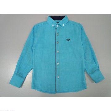 """Рубашка """"Классика"""" голубая"""