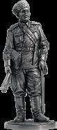 Старшина донских казачьих кавалерийских частей РККА. 1941-43 гг. СССР (олово)