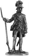 Офицер арт. и инж. Кадетского Корпуса. Россия, 1762-84 гг. (олово)