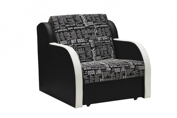 Ремикс 1 (01) кресло-кровать Газета 1500