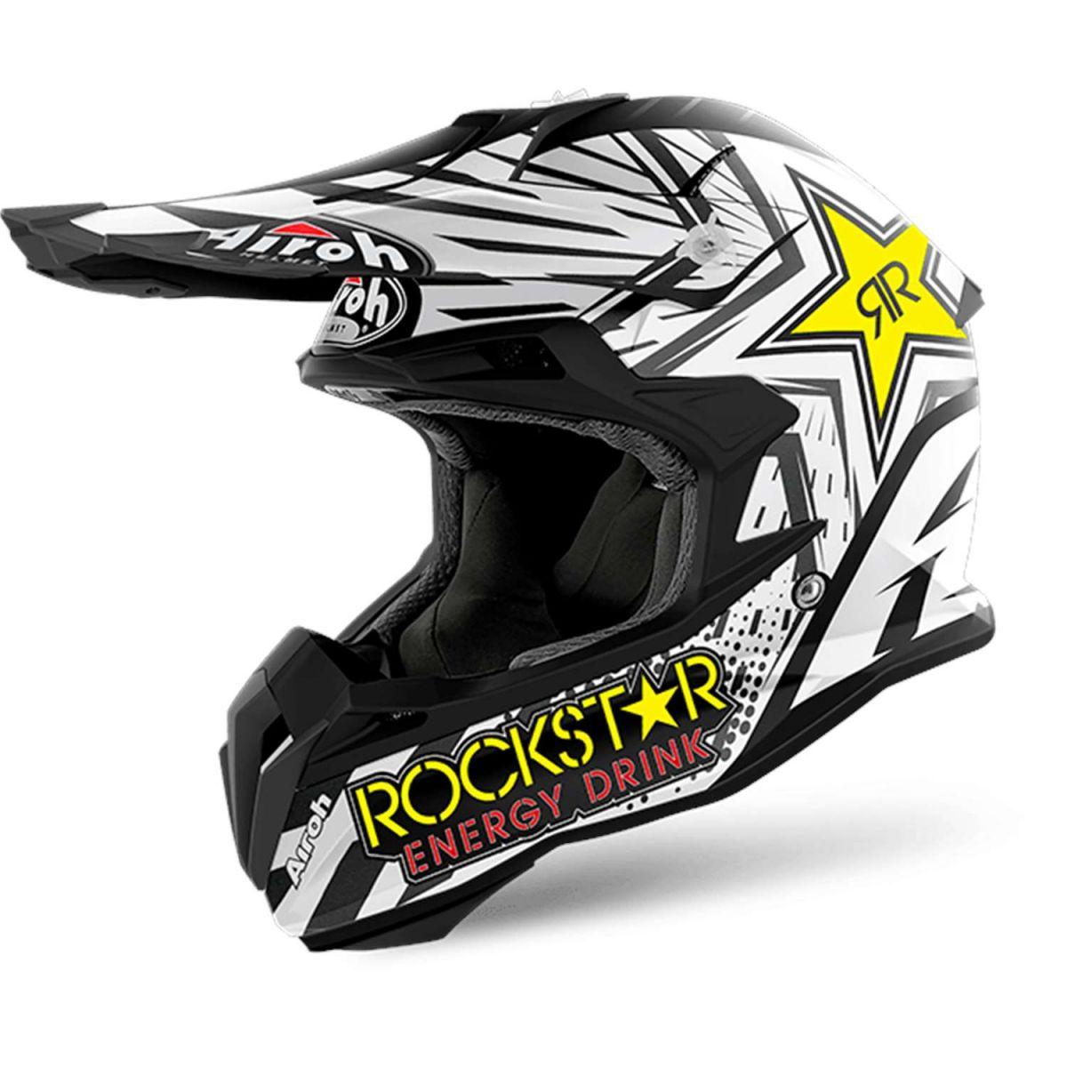 Airoh - Terminator Open Vision Rockstar Matt шлем, матовый