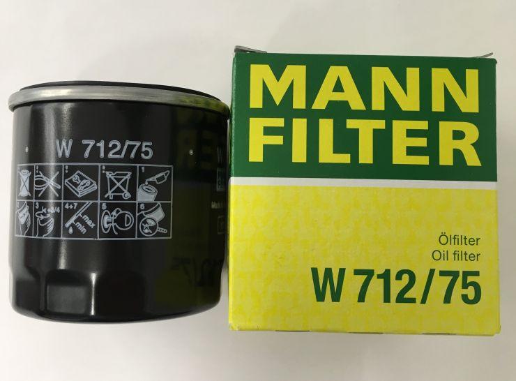 Фильтр масляный W712/75