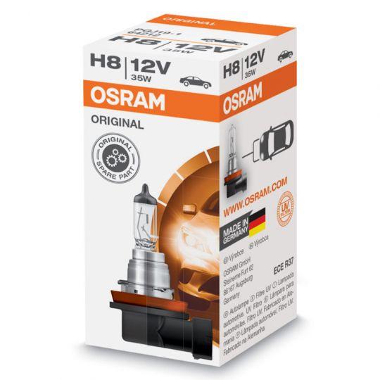 Лампа H8 12V (35W) PGJ-19-1 стандарт (64212)