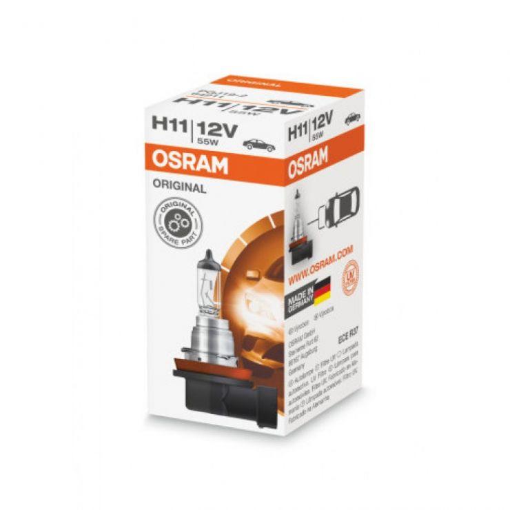 Лампа H11 12V (55W) PGJ19-2 стандарт (64211)