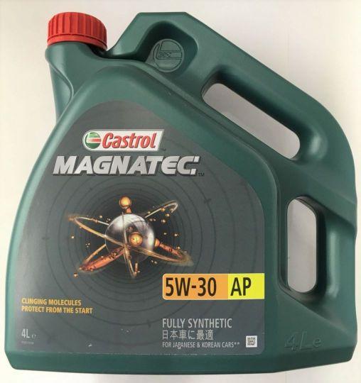 Масло моторное Castrol Magnatec 5W30 AP 4л