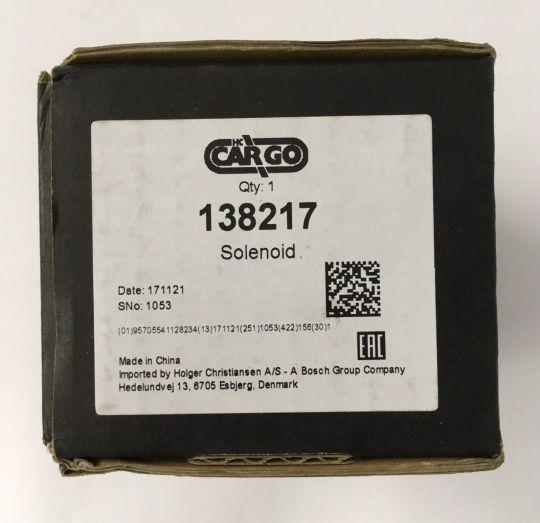 Втягивающее реле стартера Lacetti Cargo 138217
