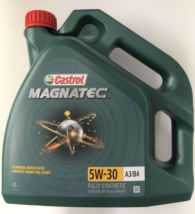 Масло моторное Castrol Magnatec 5W30 A3/B4 4л