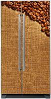 Наклейка на холодильник - Кофе 3 Средняя обжарка | магазин Интерьерные наклейки