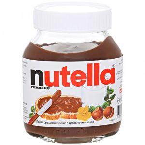 Паста ореховая Nutella с добавлением какао, 180г