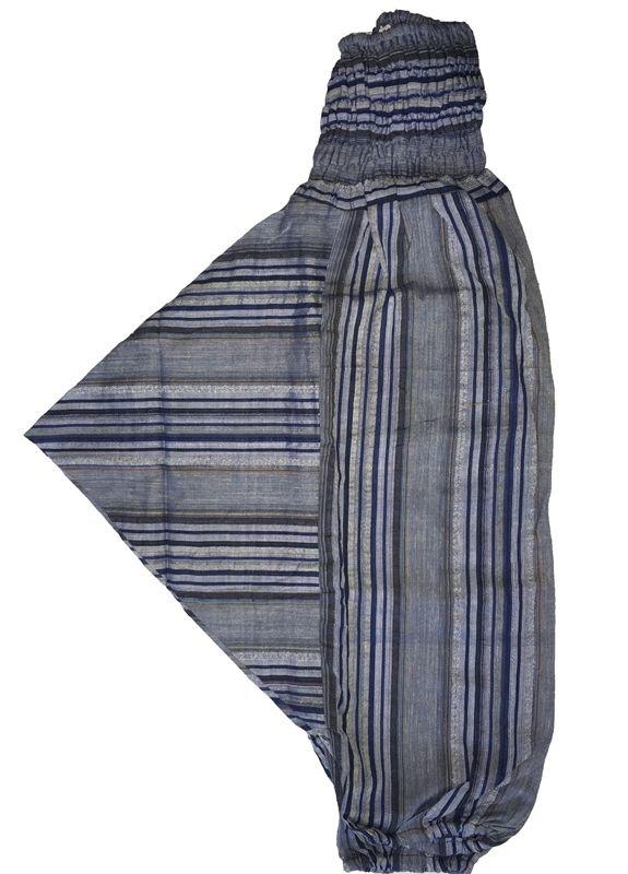 ДЕТСКИЕ штаны алладины голубого цвета (Москва)