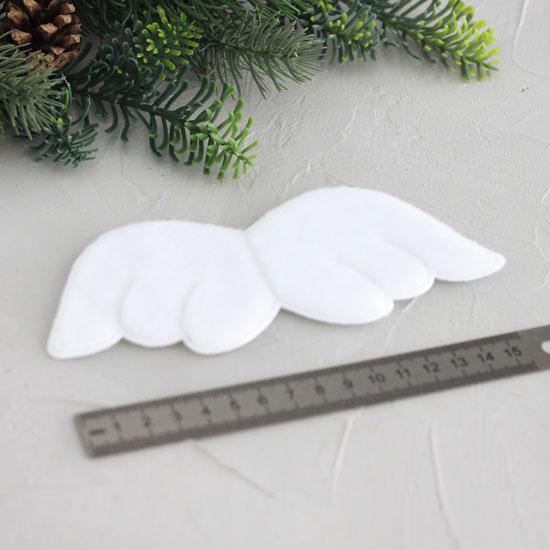 Крылышки ангела для кукол, 16 см