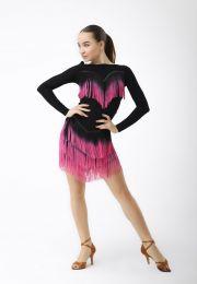 "Платье латина ""Фламинго 2"""