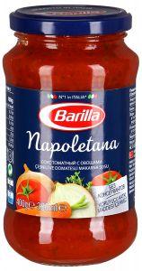 Sous Barilla tomatli tərəvəzli Napoletana, 400 gr