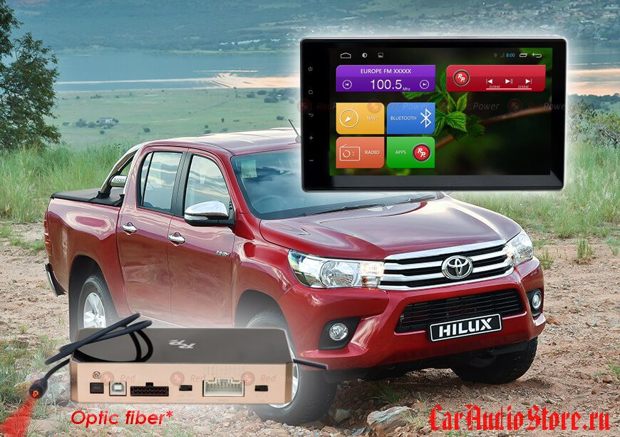 Toyota Hilux Redpower 31186 IPS DSP ANDROID 7