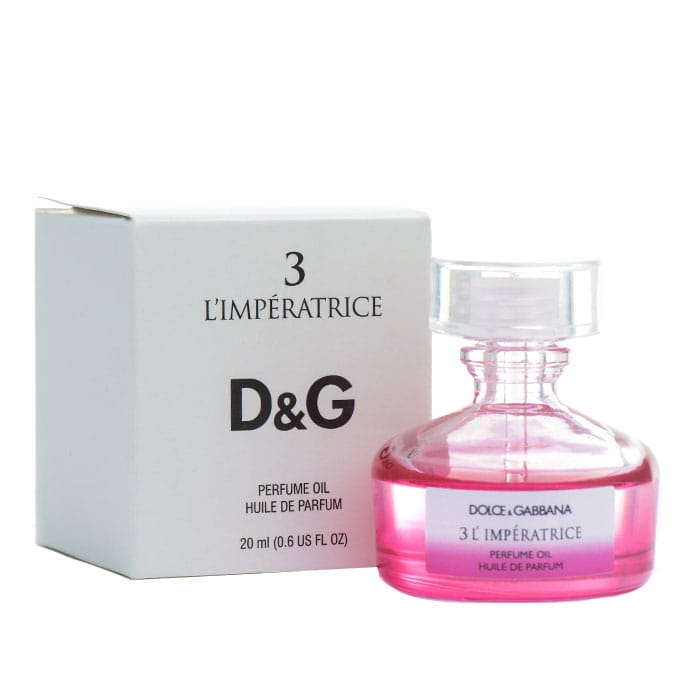 Масляные духи D&G 3 L'iperatrice 20ml AОЭ