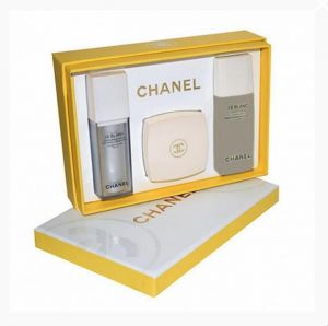 Chanel Le Blanc подарочный набор 3 в 1