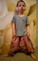 Детские индийские штаны алладины, купить в Москве для мальчиков и девочек. Интернет магазин, шоурум