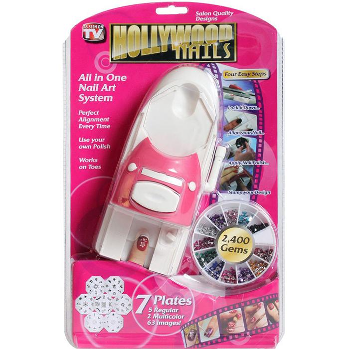 Принтер-штамп для ногтей HOLLYWOOD NAILS