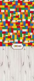"""Фон """"Lego"""" 3x1,5 (3,5x1,5 м)"""