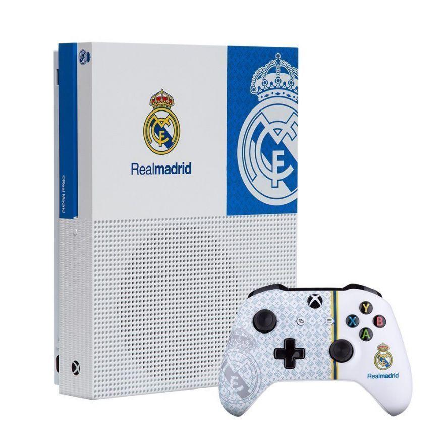 "Игровая приставка Microsoft Xbox One S 1 TB  Мадрид ""1902"""
