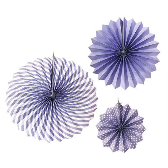 Набор из 3 фантов Фиолетовый