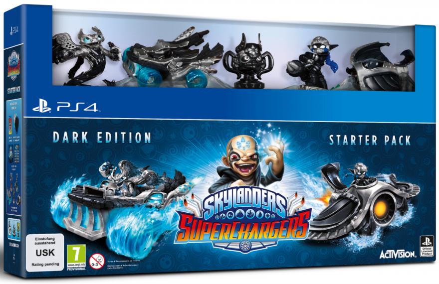 Skylanders Superchargers Dark Edition Starter Pack (PS4)
