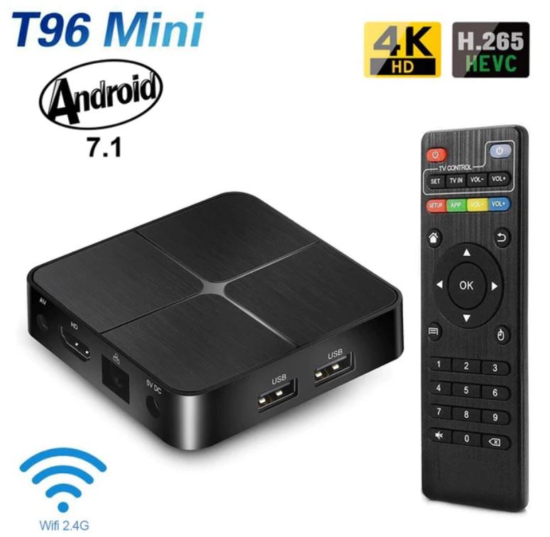 Приставка Смарт TV Box Андроид Т96 mini 2/16 Гб