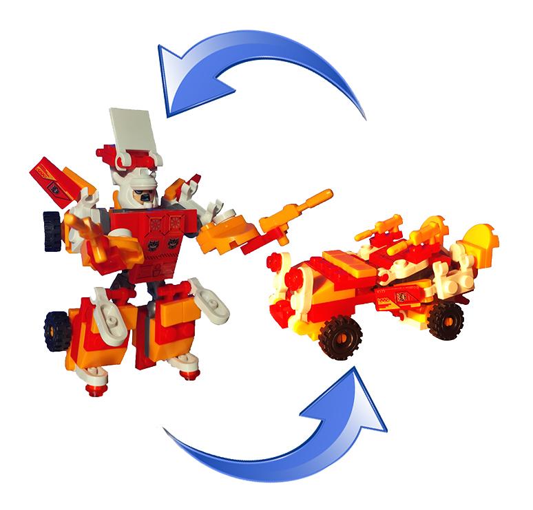 Легобот Истребитель Зла