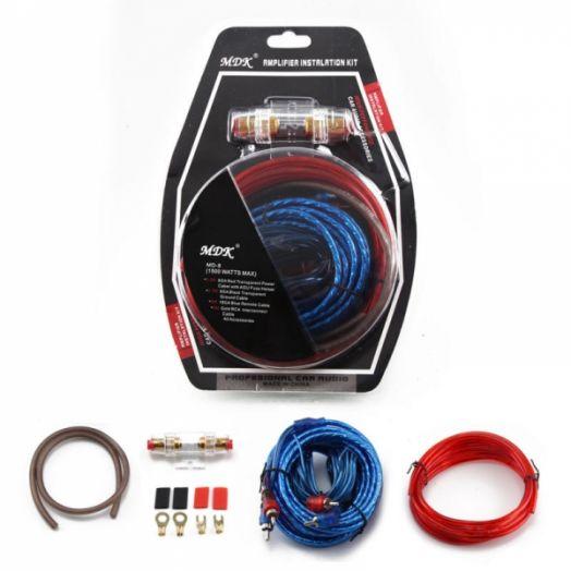 Набор кабелей для автоакустики MDK MD-8 (4.5м)