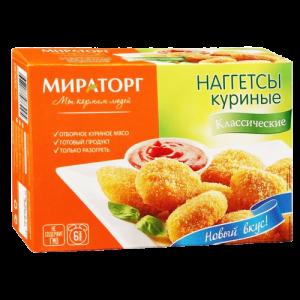 Наггетсы куриные Мираторг Классические, 300г