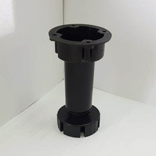 Опора кухонная ЛАЙТ черная (100-130мм)