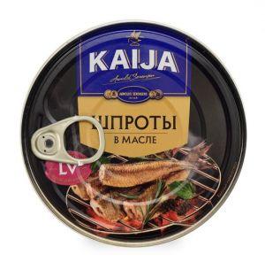 Шпроты в масле Kaija 190 г