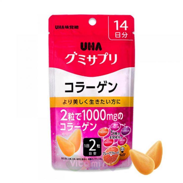 UHA Коллаген со вкусом Грейпфрута, 14 дней