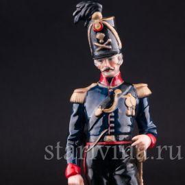 Офицер конной артиллерии, Sitzendorf, Германия, вт. пол. 20 в.