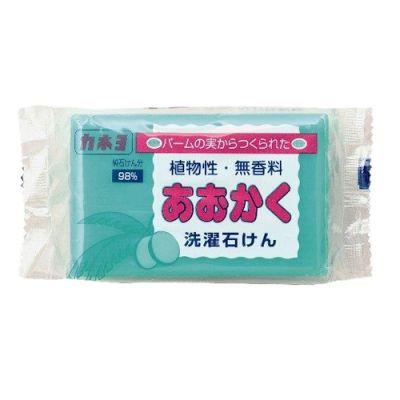 Kaneyo Мыло хозяйственное на основе плодов пальмы 98% жирных кислот для удаления загрязнений с воротников и манжет мягкое для кожи рук 190 гр