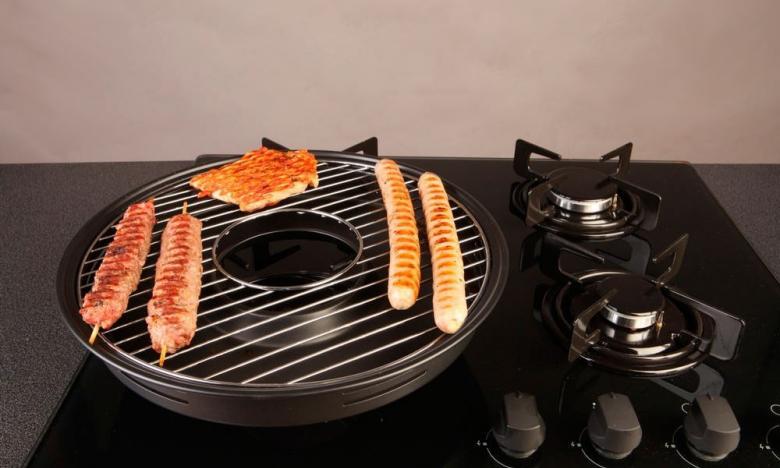 Сковородка Гриль-Газ Эмалированное покрытие