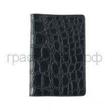 Обложка для паспорта Grand 02-002-3213 кайман черный