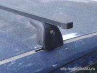 Багажник на крышу OPEL Meriva (5-dr MPV) 03-10, Amos Beta, стальные прямоугольные дуги